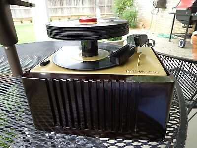 Nice Restored Rca Player Model 45-Ey-2  Plays Mono & Stereo 45 Rpm Records