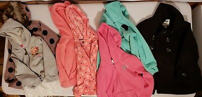 Lot Of 7 Jackets SIZE 2T & 3T Girls Toddler Great Condition Baby old navy betsy