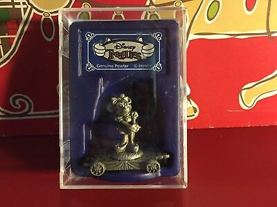 Disney Treasures Minnie Mouse Genuine Pewter in Box!
