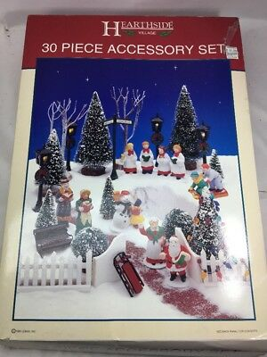 Lemax - Village Collection 30 piece Accessory Kit Ho Christmas Scenery