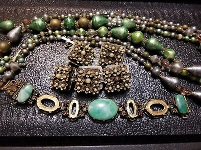 Lot of vintage antique jewelry GRANDMA'S estate  (See Pictures) Lot 2