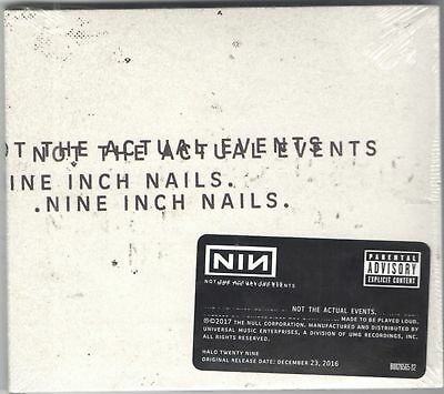 Nine Inch Nails - Not The Actual Events - Cd (Ep) - New