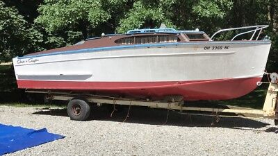 Chris-Craft Chris Craft Wooden Boat 1961