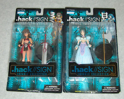 NEW .hack//sign Lovable Collection Complete 2 pc set.     USA SELLER