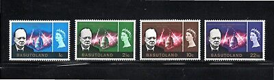 Basutoland 1966 Churchill Commemoration SG 102/5 Mint Hinged