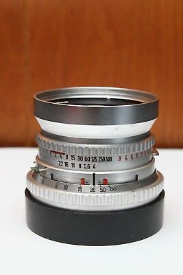 Hasselblad 60mm f/4 C Distagon Carl Zeiss Silver Chrome Lens Rare