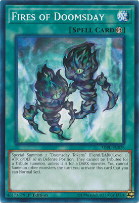 Yugioh! Fires of Doomsday - SDPL-EN028 - Common - 1st Edition Near Mint, English