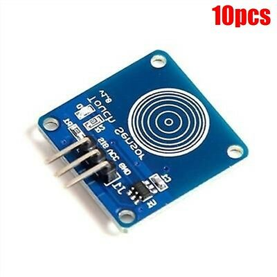 10Pcs TTP223B Digital Touch Sensor Capacitive Touch Switch Module For Arduino lx