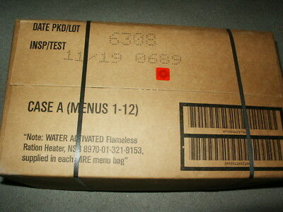Original Us Mre Bw Epa C-Ration Original Verpackt Mhd 11-2019
