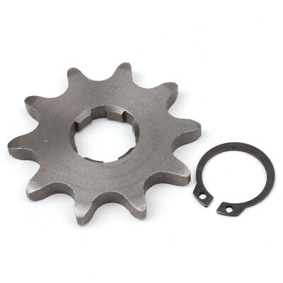 520 10T Front Sprocket with Circlip for 20mm Counter Shaft Dirt Pit Bike ATV