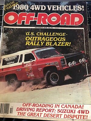 Off-Road Magazine December 1979 vintage truck chevy collectibles