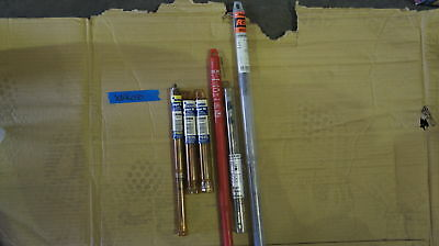 Lot of 5 Drill Bits for Wood and 1 Masonry Drill Bit