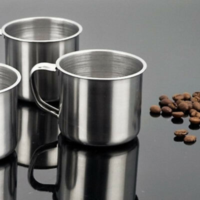 New 100ml Portable Outdoor Travel Stainless Steel Coffee Tea Mug Cup Camping