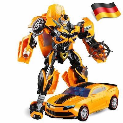 35cm Roboter Trans formers Modell Transforming Auto ACTION FIGURE Bumblebee 2018