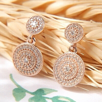 06cb63091 ... italy genuine pandora rose gold radiant elegance drop earrings 280688cz  031a5 42c2c ...