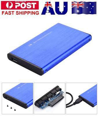 Aluminium 2.5 SATA to USB 3.0 Hard Drive Enclosure Case for Laoptop HDD SSD UASP