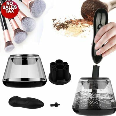 Electric Makeup Cosmetic Brushes Brush Cleaner Drying Washing Machine Tools Set