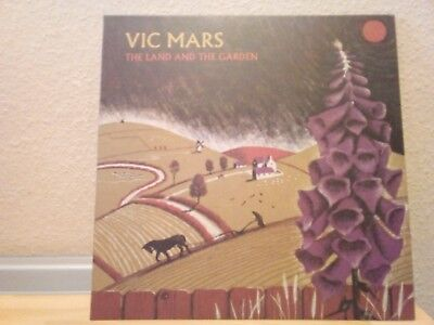 "Vic Mars - The Land and The Garden 12"" Vinyl Clay Pipe Music"