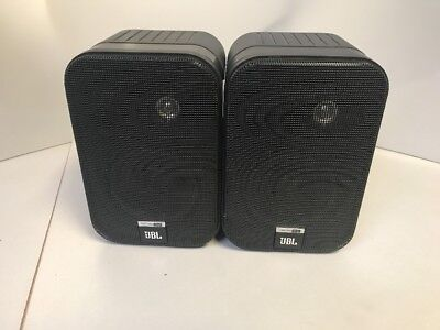 JBL Control One Black 2-Way, pair