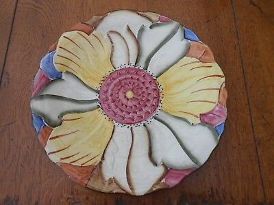 Vintage Collectible H J Wood Ltd Burblem Pretty Display Plate
