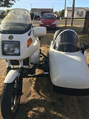 K100 bmw and sidecar