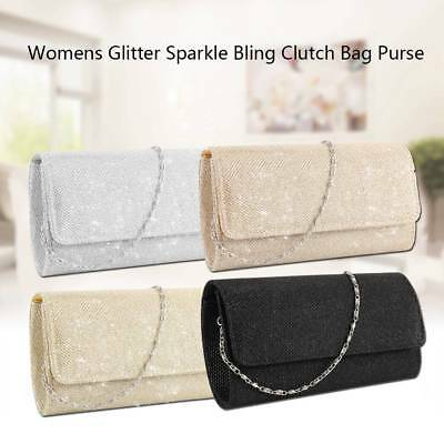 Elegant Evening Shoulder Bag Bridal Clutch Party Prom Wedding Envelope Handbag