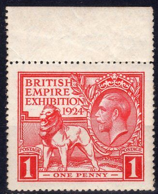 GB : KGV  SG430c 1d British Empire Exhibition: Tail to N of EXHIBITION : MNH