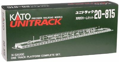 KATO N Gauge 20-815 One-Sided Platform Complete Set Model Railroad Supplies