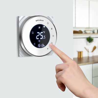 Touch Screen Heating Room Thermostat Programmable Temperature Sensor Controller