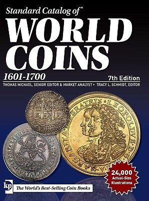 2018 Standard Catalog of World Coins 1601 - 1700 (7th ed) PDF Shipping eMail