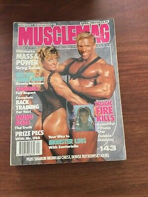 MUSCLEMAG INTERNATIONAL MAGAZINE - April 1994