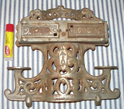 LARGE c. 1910 Nickel-Plated Antique Toy Stove Part, Back-Piece, Warming Ovens!
