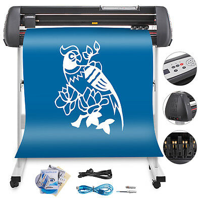 "34"" Vinyl Cutting Plotter Sign Cutter New Generation Great Dependable Performace"