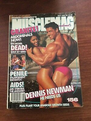 MUSCLEMAG INTERNATIONAL MAGAZINE - May 1995