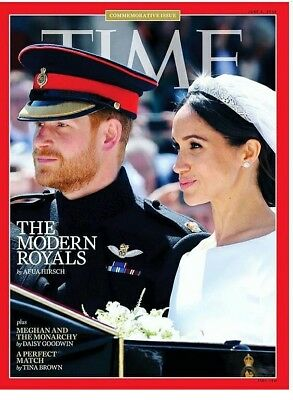 TIME Mag. 4.6.2018 COMMEMORATIVE ISSUE ROYAL WEDDING PRINCE HARRY& MEGHAN MARKLE