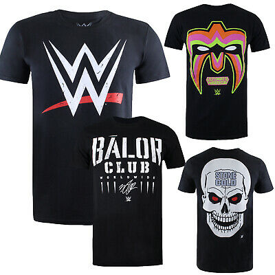 WWE Wrestling - OFFICIAL Licensed Mens T-Shirts - 20+ Designs - Sizes S-XXL