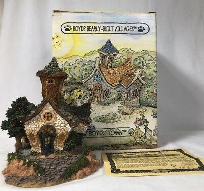 Boyds Bearly Built Villages The Chapel In The Woods  #19003  3E/2772 In Box!