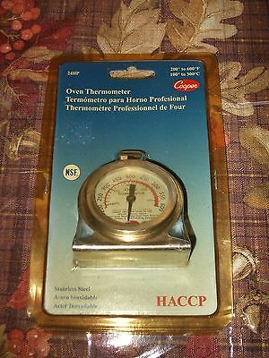 Cooper Commercial Oven Thermometer 200 to 600F