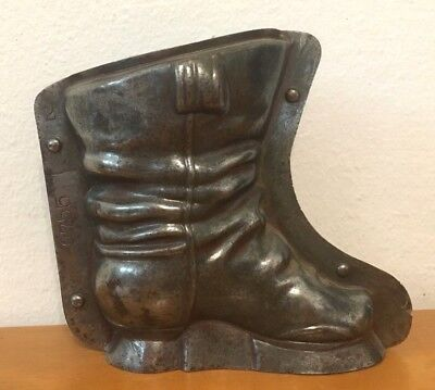 Antique Vintage Anton Reiche  Chocolate Food Mold Child's Boot Buy It Now