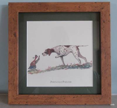 BRYN PARRY COMIC Country Hunting Dog - FRAMED PRINT - TEAMWORK ...