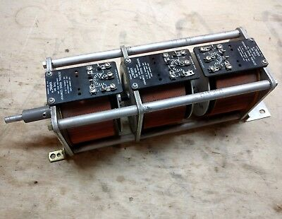 General Radio W5 Autotransformer Adjustable 3 Phase Variac 6Amps