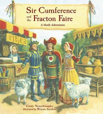 Sir Cumference & The Fracton Fair (Us Import) Book New