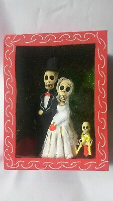 Mexican bride and groom niche