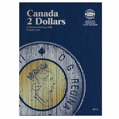 WHITMAN Canada Two Dollars 2 Dollar Toonies 1996-Date Folder Album #4014
