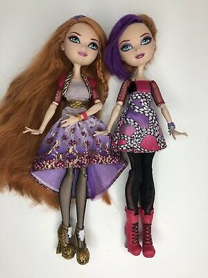 Monster High Ever After High Holly and Poppy O Hair Twin Sisters Doll Set