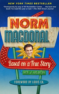 Macdonald Norm/ Louis C.K. ...-Based On A True Story (US IMPORT) BOOK NEW