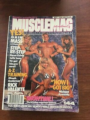 MUSCLEMAG INTERNATIONAL MAGAZINE - May 1994