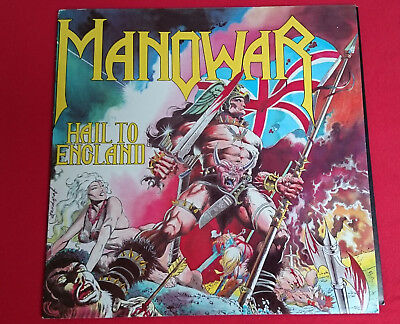 Manowar - Hail To England Music For Nations
