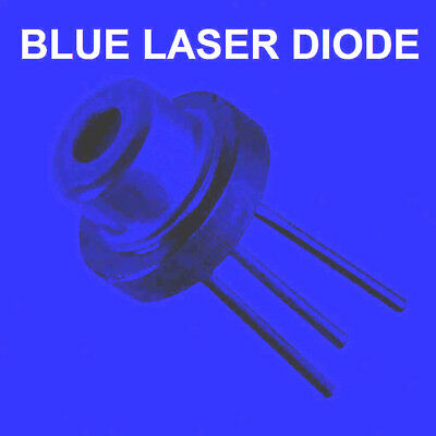 2* Blue Laser Diode 2w M-TYPE 445NM 450nm BLUE   5.6mm diode to fit laser module