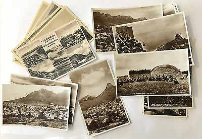 Antique 20 Cape Town Postcard Lot South Africa Capetown Unusual Real Photo PC